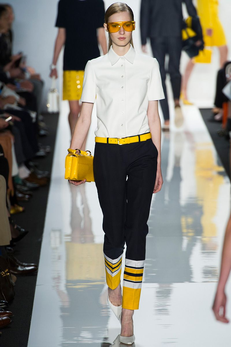After DKNY's Taxi colours, it's Michael Kors now. Spring 2013