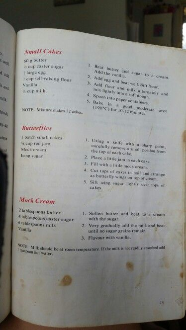 Small Cakes Cookery Cookery Books Cooking Recipes