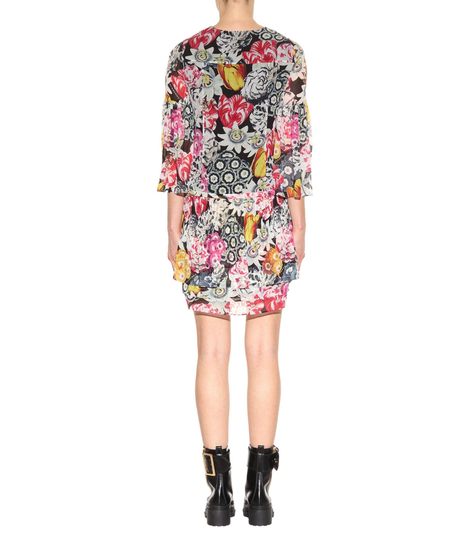 72eb97eb9210 mytheresa.com - Ruth Silk Mini Dress | Burberry - mytheresa - Luxury Fashion  for Women / Designer clothing, shoes, bags