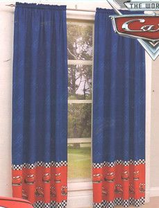 Lightning Mcqueen Cars Curtains