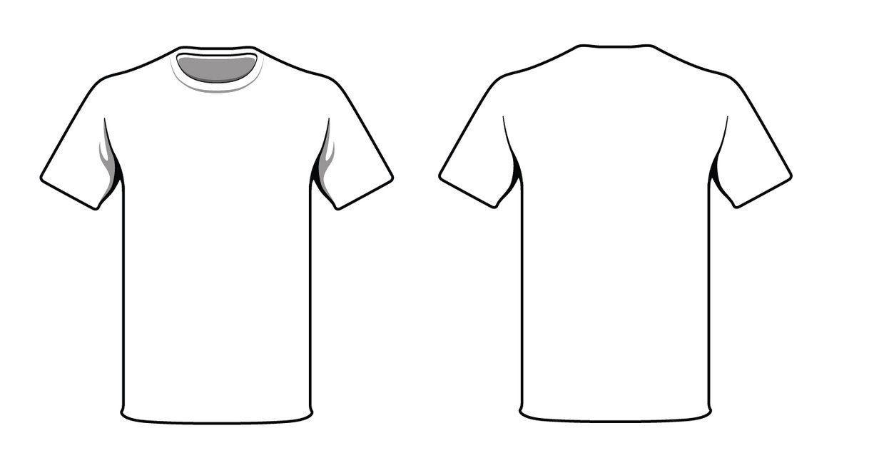 Download The Exciting White T Shirtalymunibari Deviantart On Deviantart Throughout Printable Blank Tshirt Temp Plain White T Shirt Shirt Sketch T Shirt Design Template