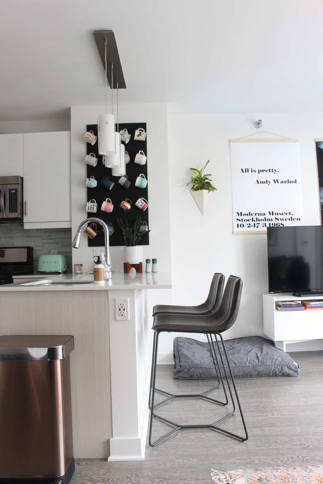 The Apartment: Month Four | Scandinavian modern, Apartments and Mid ...