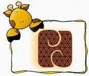 Oh my Alfabetos!: Alfabeto con linda jirafa.