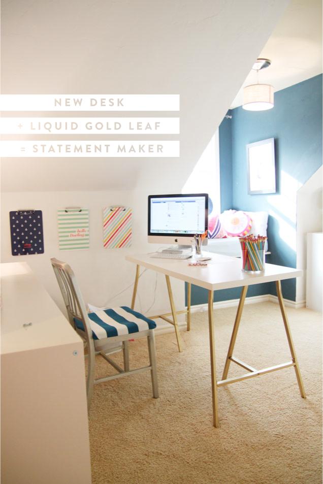 Office Space & a quick Ikea hack Cheap ikea desk, Ikea