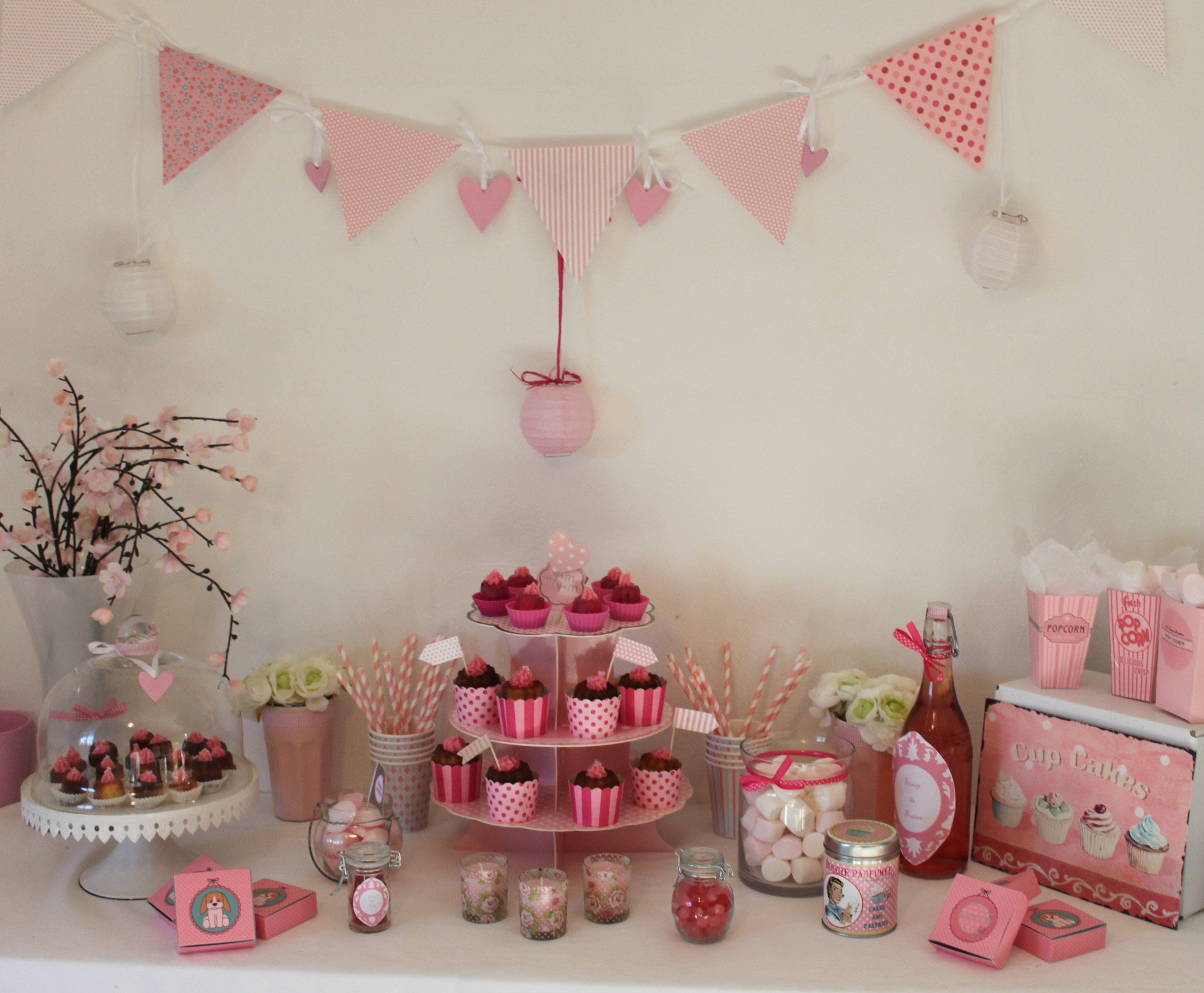 Decoration Anniversaire Girly Sweet Table Girly Sweet Tables Et Anniversaires Anniversaire