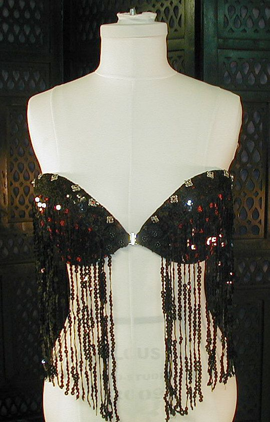 Gothic Belly Dance Strapless Bra van tombostudio op Etsy, $200.00