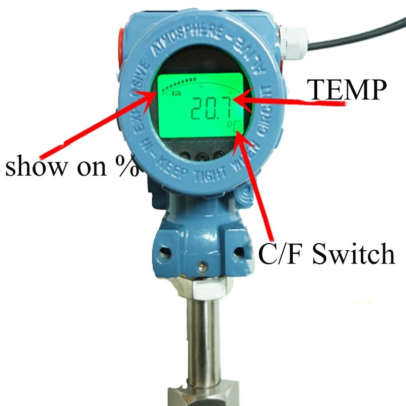 Pct400 4 20ma Temperature Transmitter High Strength Aluminum
