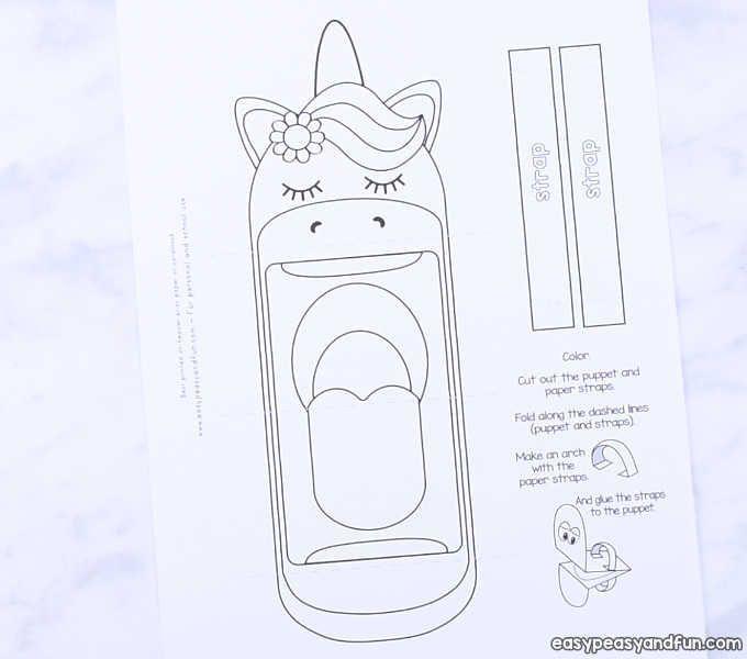 Photo of Druckbare Einhornpuppe – einfach leicht und macht Spaß