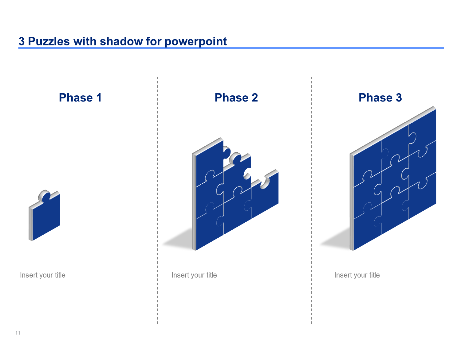 Puzzle Powerpoint Templates Students