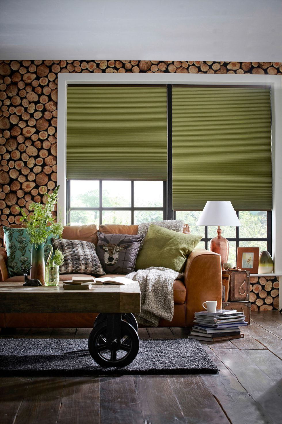 27 hyggeinspired items for your home Living room blinds