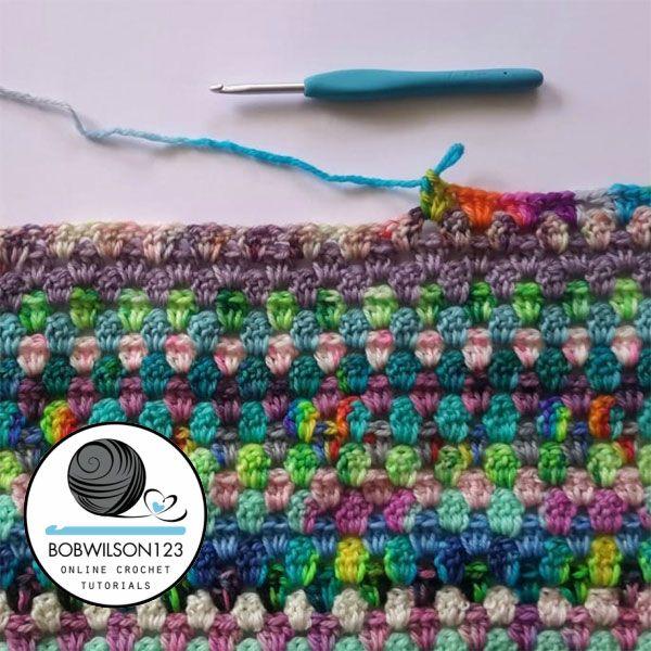Crochet Scraptastic Granny Tutorial https://www.freecrochettutorials ...