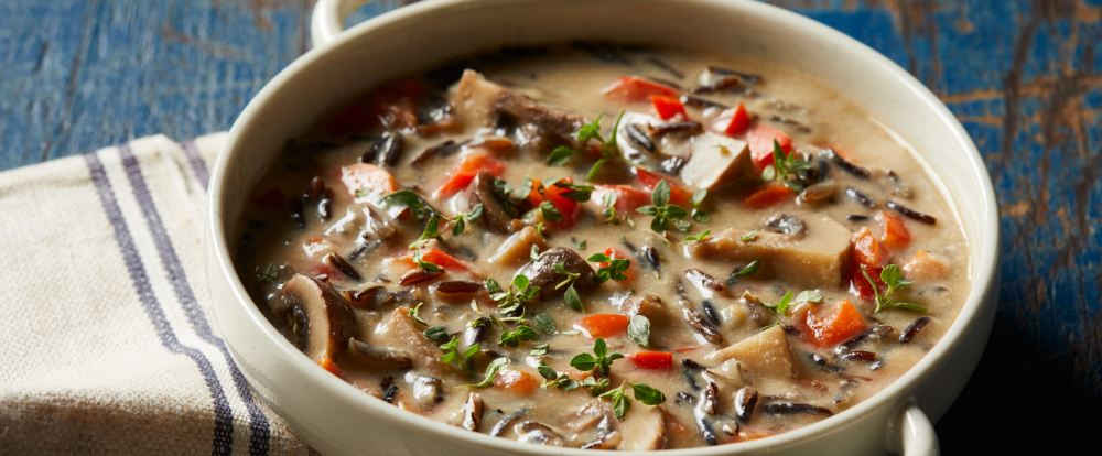 Creamy Wild Rice Soup Recipe in 2020 Wild rice