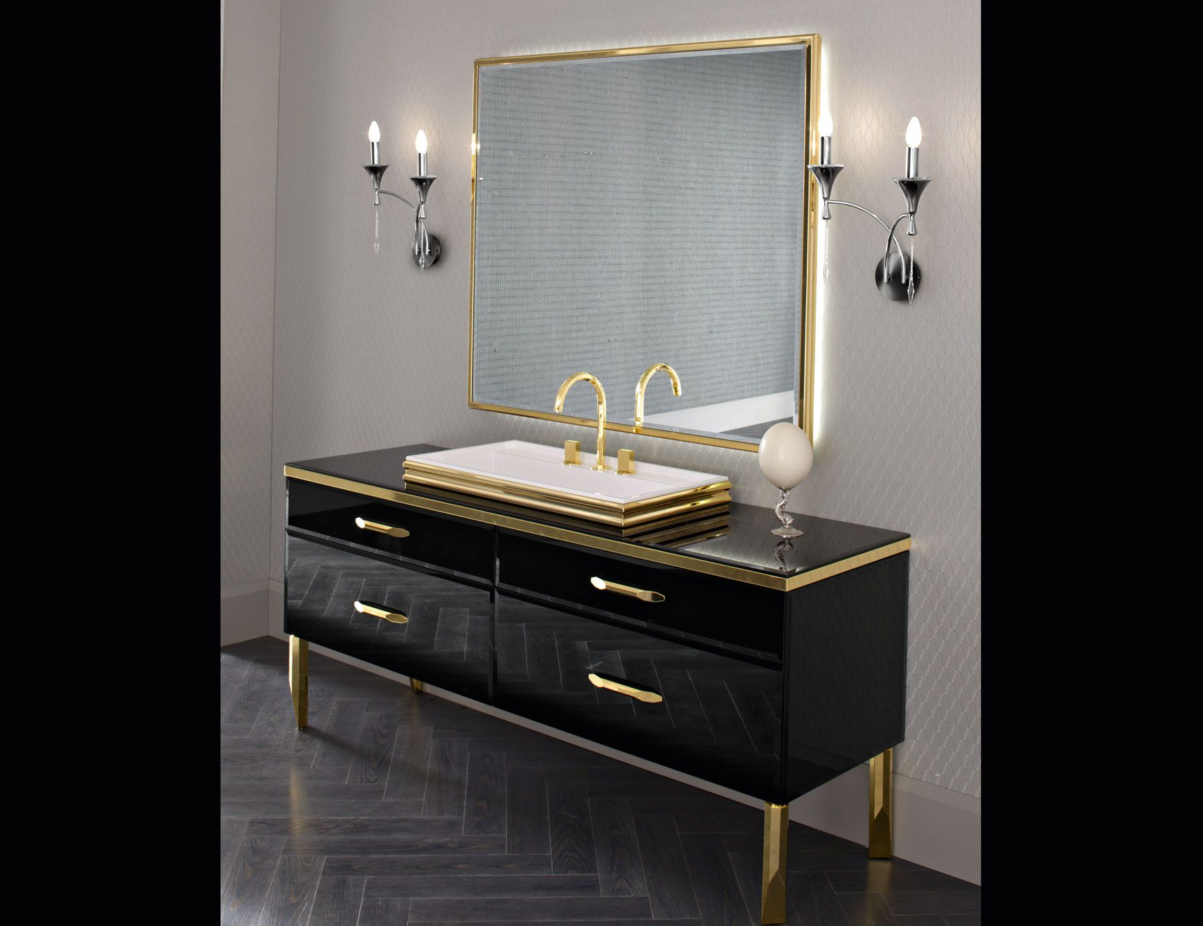 Coolbrilliant The Five Steps Needed For Putting High End Modern Bathroom Vanities