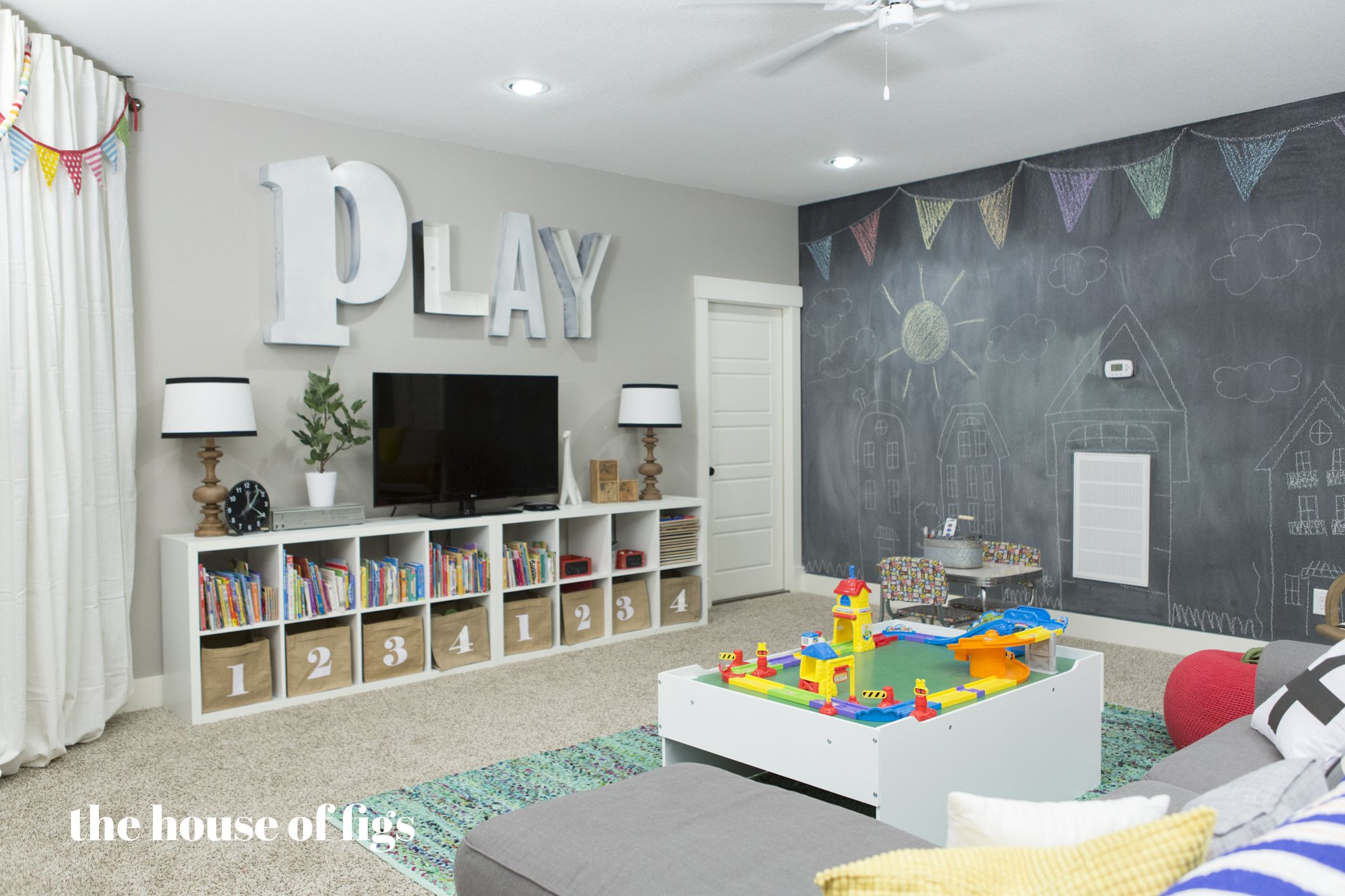 Playroom Chalk Wall Stage The House Of Figs For The
