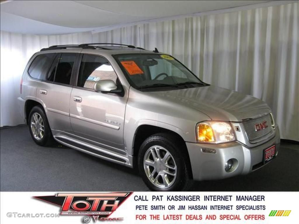 Envoy Denali Silver Rims 2007 Gmc Envoy Denali 4x4 Liquid Silver Metallic Color Light Gray Gmc Envoy Denali Gmc Envoy Gmc
