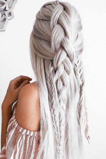 Easy Braid Hairstyles Best 50 Cool Braids That Are Actually Easy  Hair Style Braid