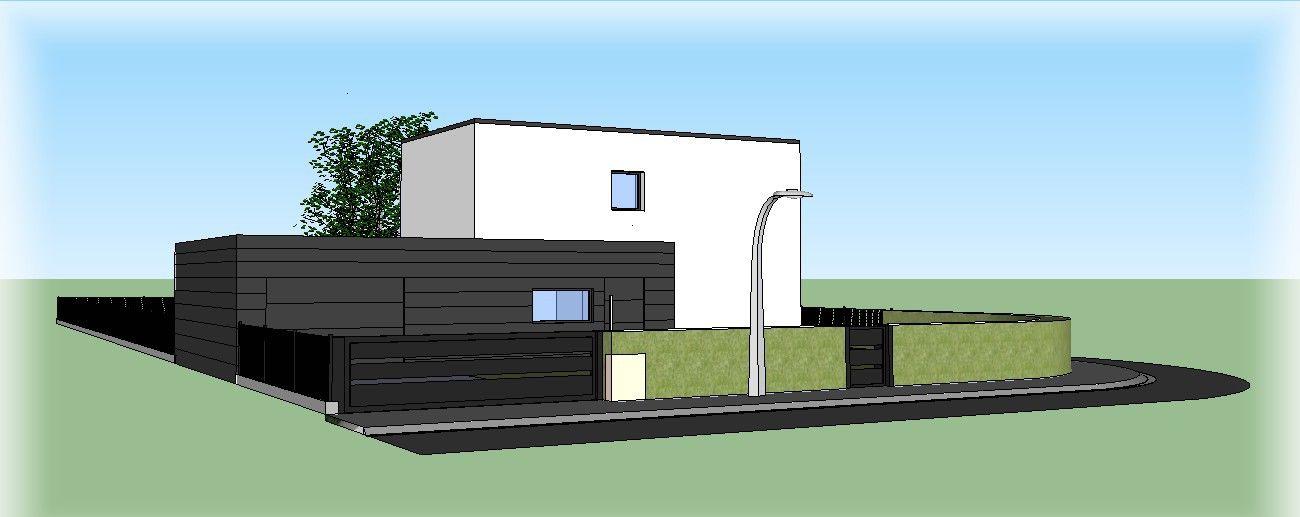 Maison Passive 62 Maison passive en béton dans le nord de la