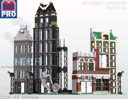 The Old Corner Square Pdf Lego Instructions Architecture
