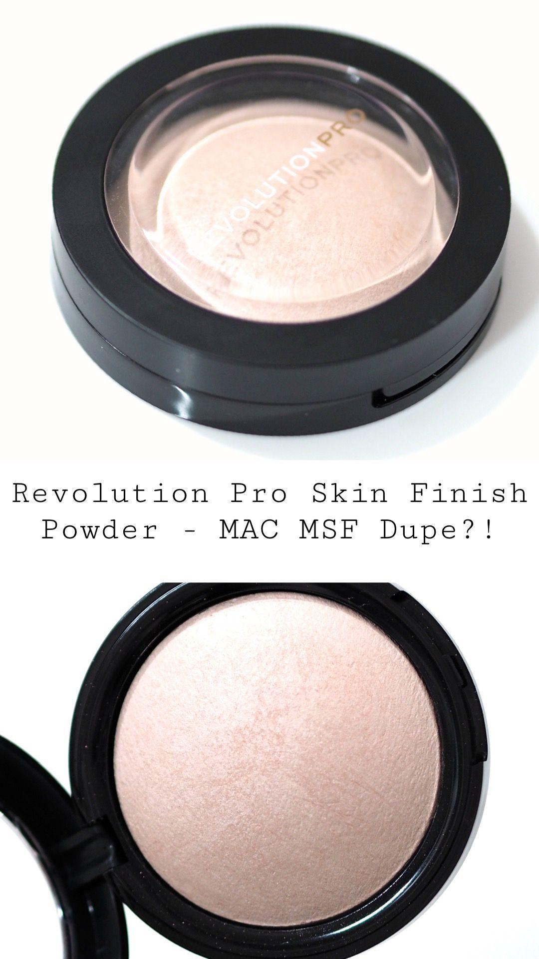 Revolution Pro Luminescence Skin Finish Powder Review