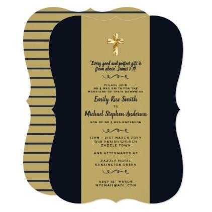 Navy gold catholic wedding invites bible verse wedding invitations navy gold catholic wedding invites bible verse wedding invitations cards custom invitation card design marriage stopboris Image collections