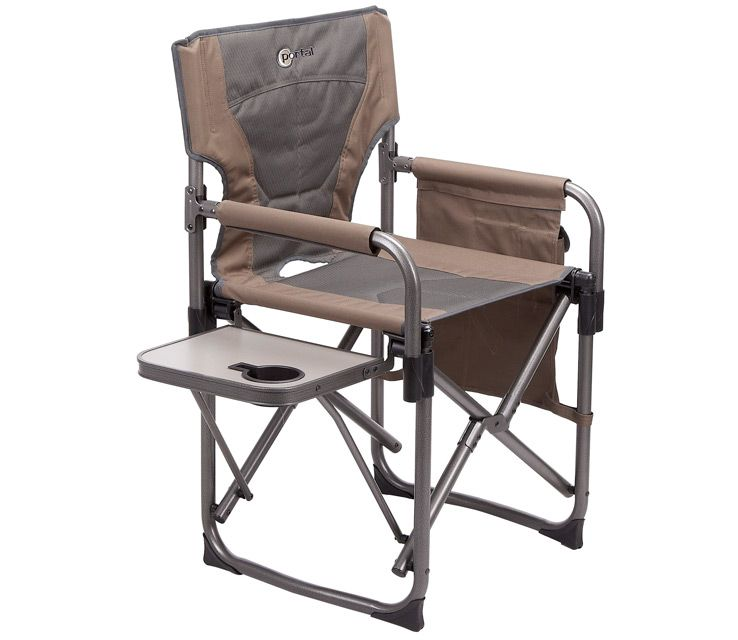 Outdoor Folding Chair With Side Table Tan Office Westfield Outdoors Easy Fold Directors This Durable Xl Steel Framed Is Built To Last