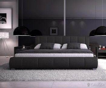 Polsterbett Minerva 180x200 Cm Schwarz Schlafzimmer Bild 1 Bett