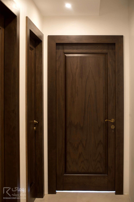 Wood Modern Bathroom Door Design  HOMYRACKS