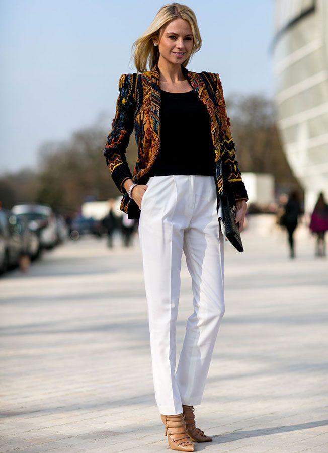 raviver la tenue avec un blazer plus color v tements pinterest tenue de travail femme la. Black Bedroom Furniture Sets. Home Design Ideas