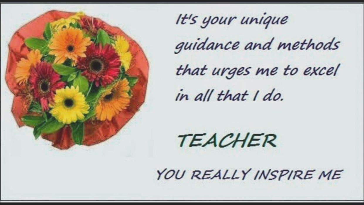 5 Teachers Day Card Quotations En 2020