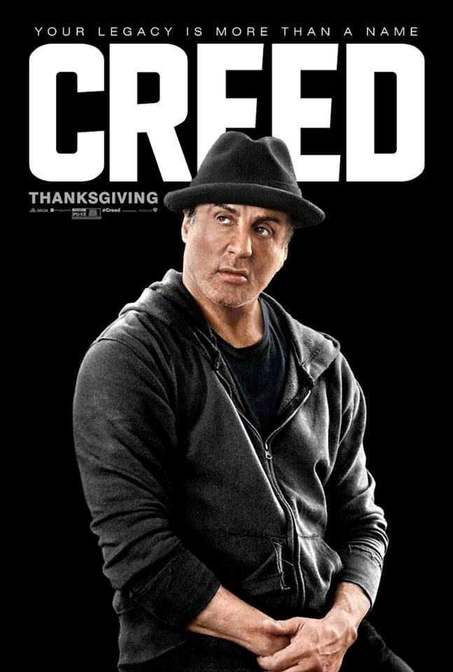 CREED movie poster No.2 w/ Sylvester Stallone | Movie ...