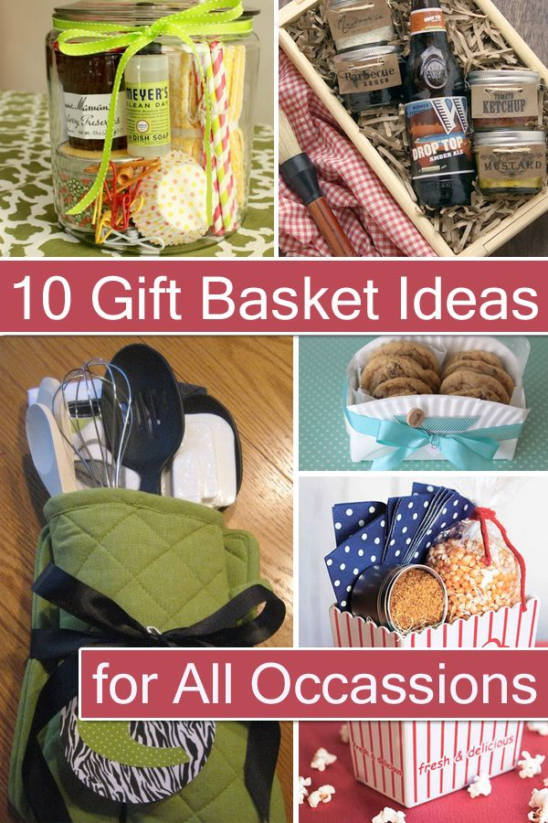 10 Pretty Diy Gift Basket Ideas For All Occassions With Images