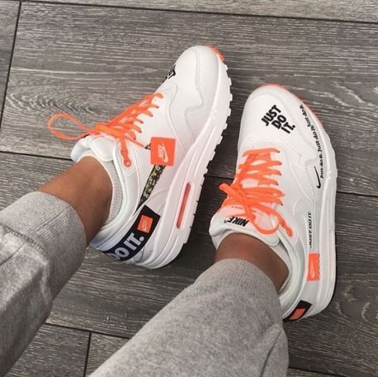 Nike Air Max 1 S Just Do It Nike Air Max Outfit Sneakers Fashion Outfit Shoes