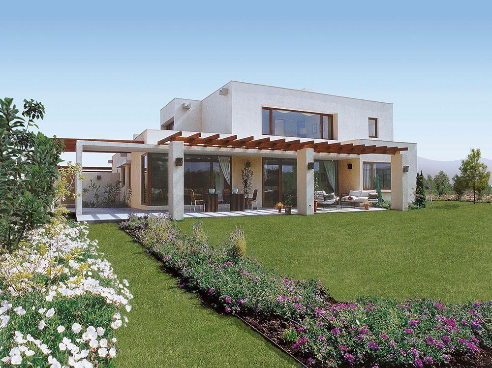Casas mediterr neas 60 modelos e projetos com o estilo for Casas de campo economicas