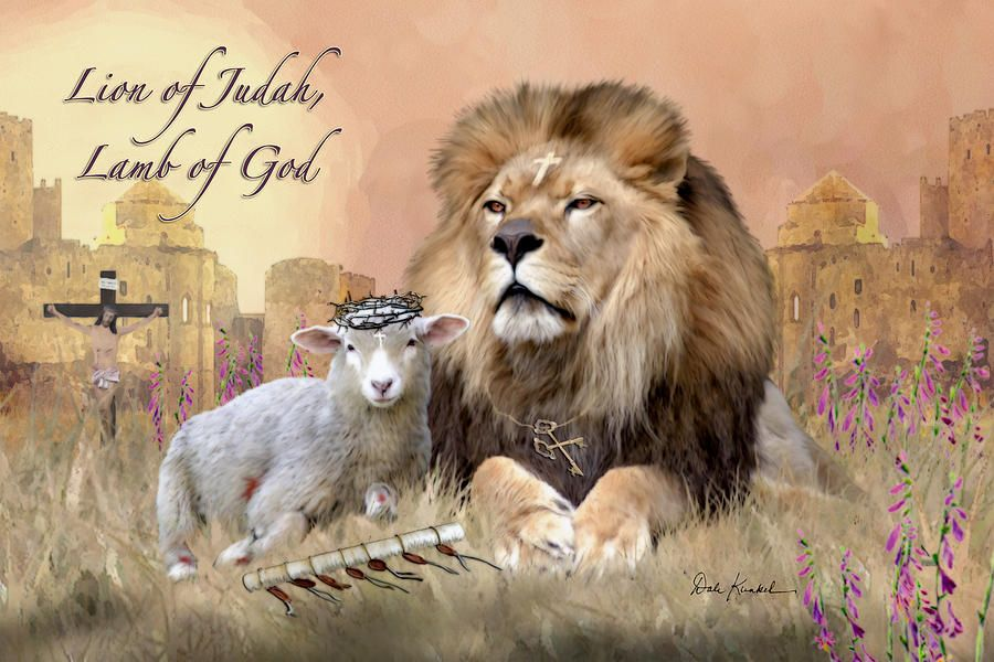 Image result for the Lamb of God art