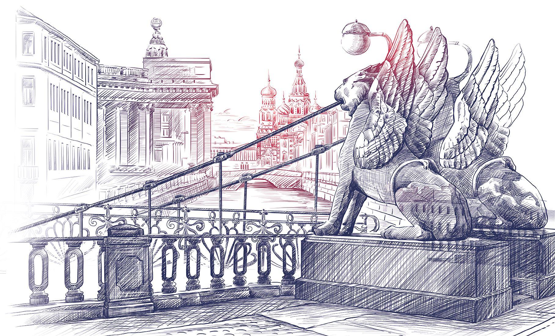 картинки санкт-петербурга хорошего качества карандашом винтовки могут