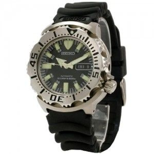 "Seiko Men's SKX779K3 ""Black Monster"" Automatic Dive Watch | Best Diving Watch"