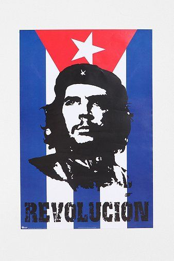 Che Guevara Flag Poster Fotograf Hayaller