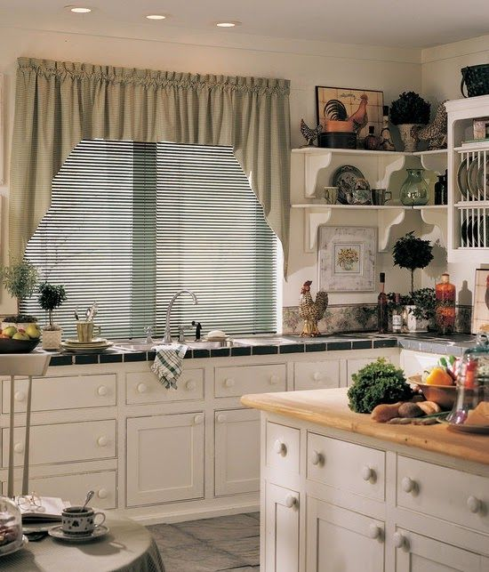 cortinas cocinas pequeas modernas
