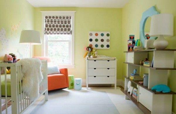Awesome Farben Im Schlafzimmer Grün Hell Beruhigend Kinderzimmer Orange