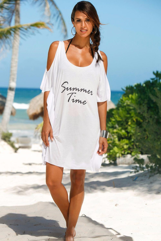 """""""Summer Time"""" Shirt Dress"""