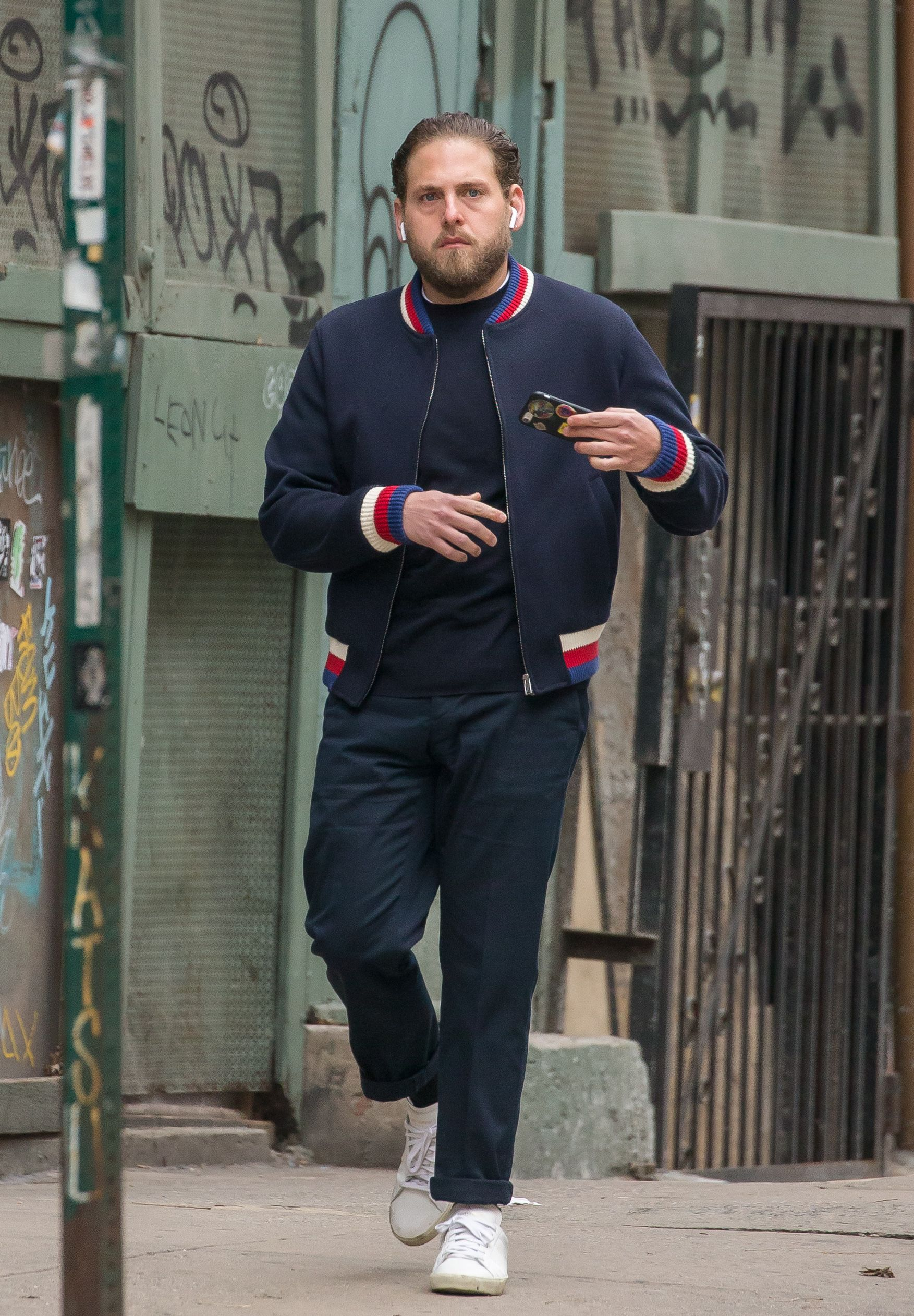 the best dressed men of the week jonah hill. Black Bedroom Furniture Sets. Home Design Ideas