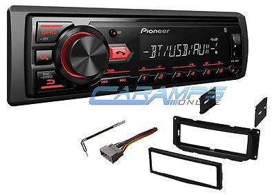 New Pioneer Bluetooth Car Stereo Radio W Install Kit Digital