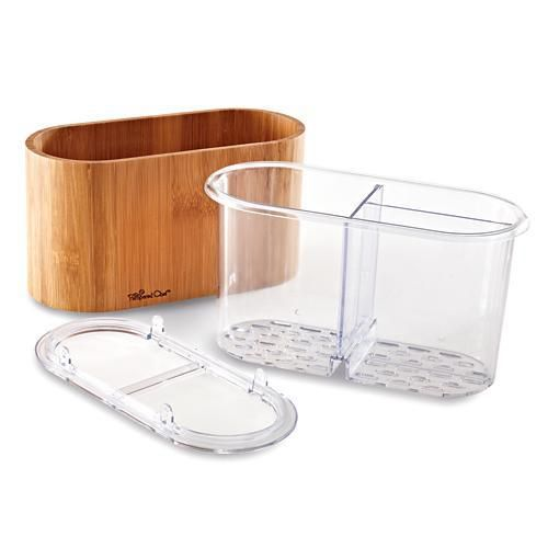 1716 Bamboo Sink Caddy 21 50 I Love Pampered Chef