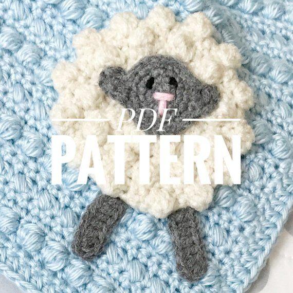 Crochet Security Blanket Pattern//Crochet Baby Blanket Pattern//Crochet Blanket Pattern//Crochet Afghan Pattern//Crochet Pattern #crochetsecurityblanket