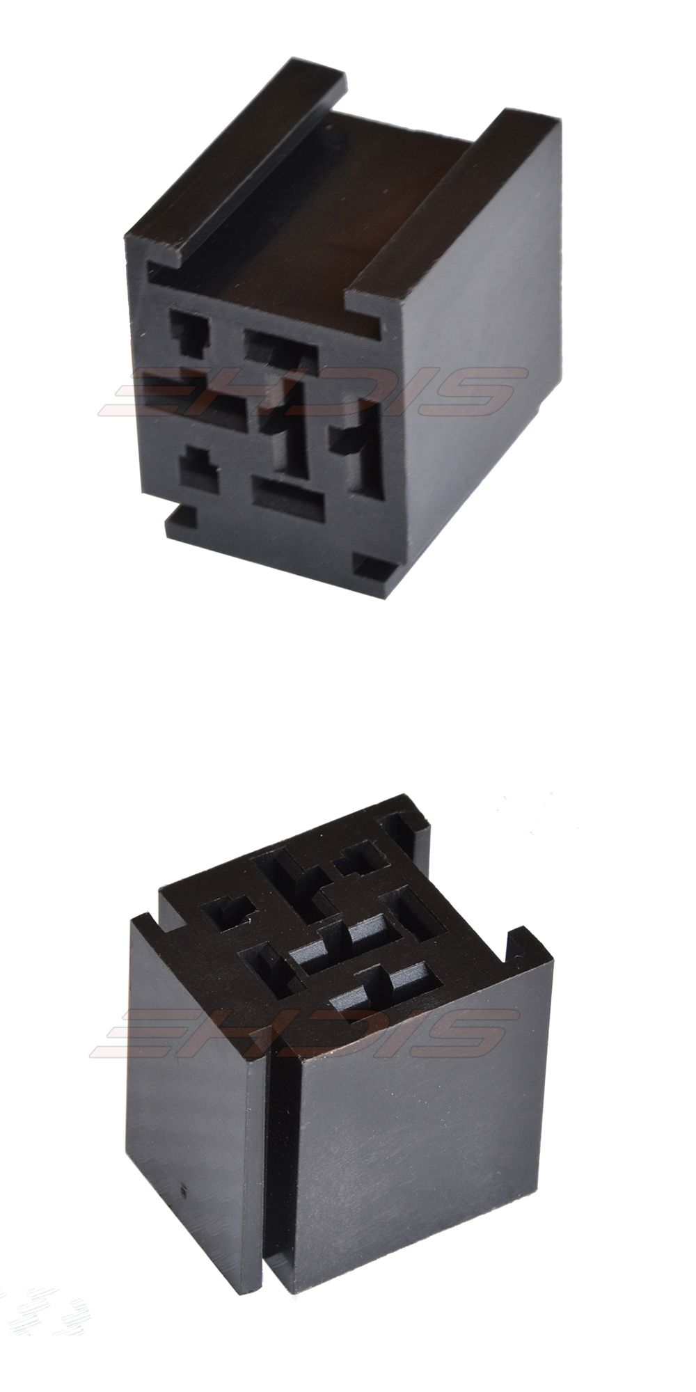 5Pcs 80 Amp Relay Connector 4 Pin Relay Socket with 4 Terminals: 2 x ...