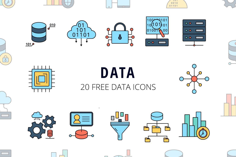 Data Vector Free Icon Set Deszone Net Free Icon Set Free Icons Vector Free