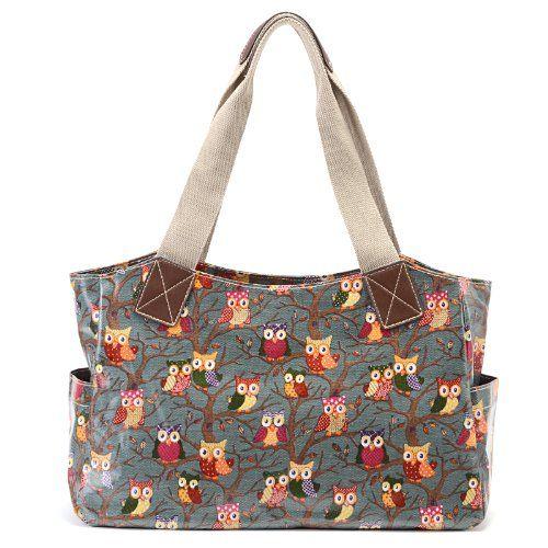 Owl/Butterfly Print Oilcloth Cartoon Shoulder Bag Tote Shopper Carry day Handbag Anladia http://www.amazon.com/dp/B00HLZBCS6/ref=cm_sw_r_pi_dp_KKZ6vb0PAX5T6