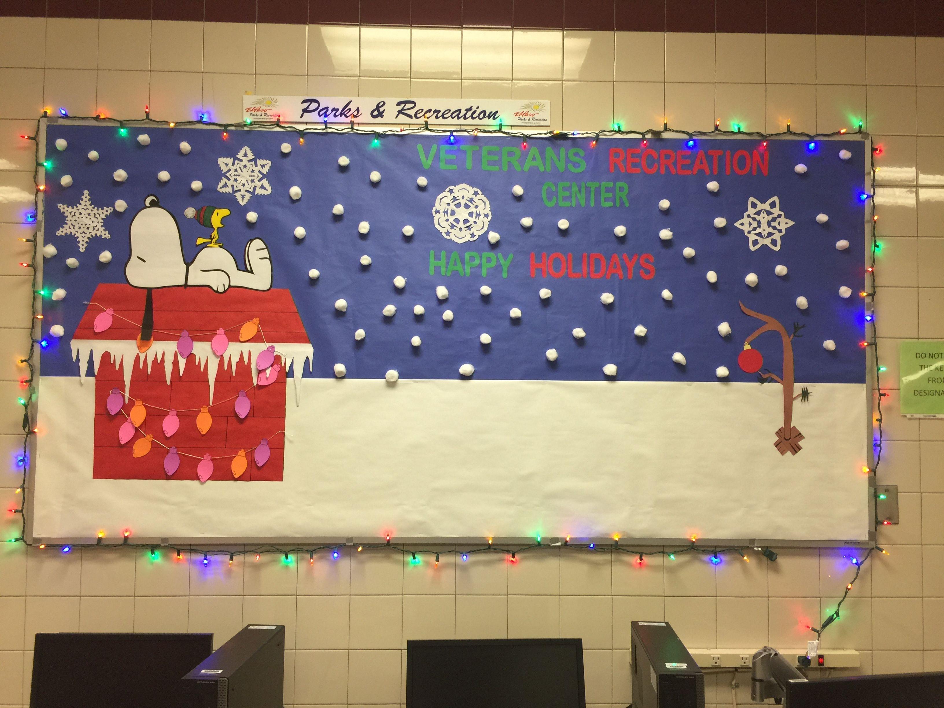 Snoopy Christmas Bulletin Boards