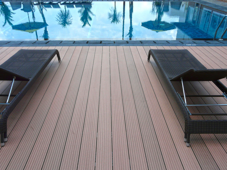 cheap build 24 foot pool deck Building a deck, Wpc