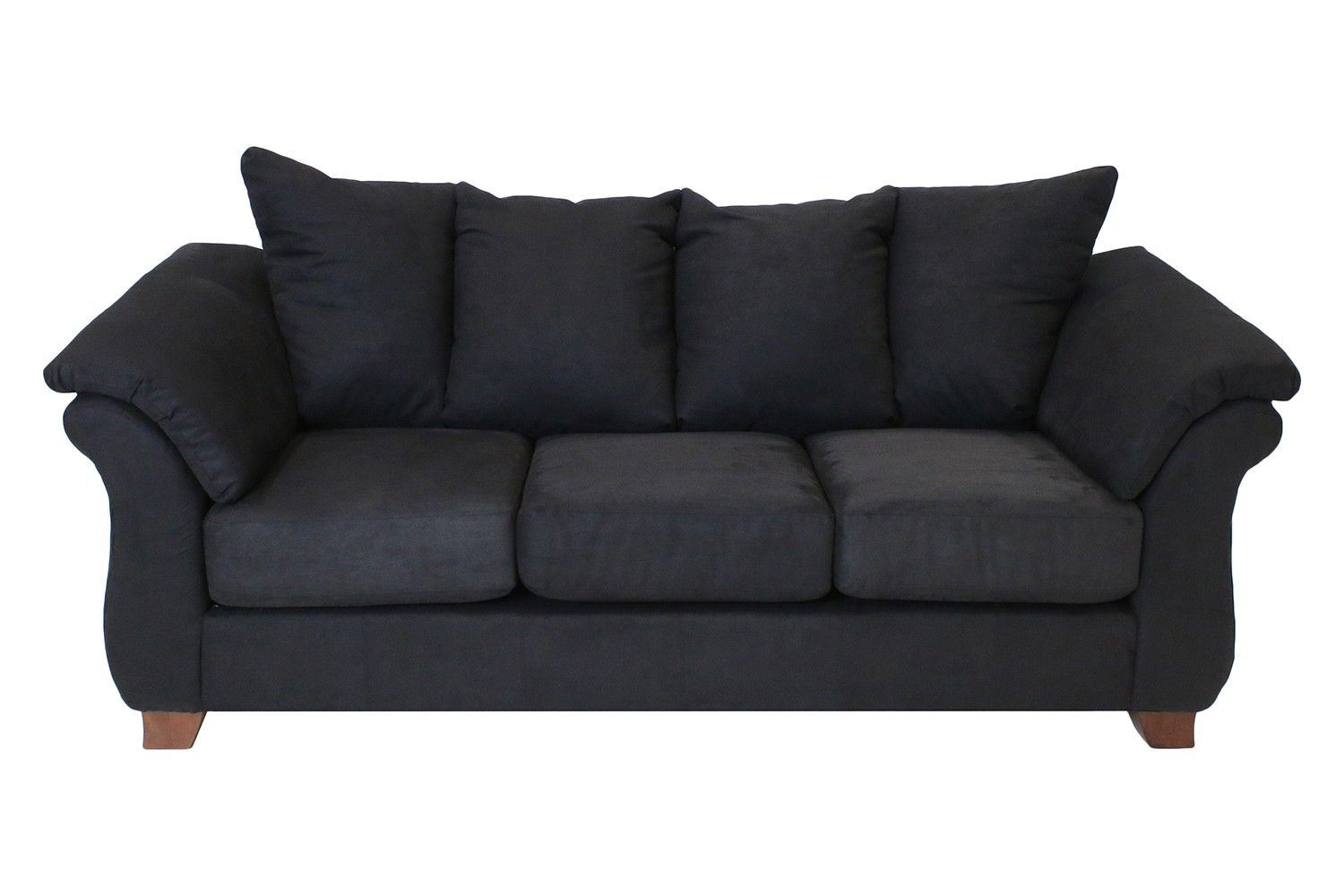 Shasta Black Sofa   Sofas   Living Room | Mor Furniture For Less